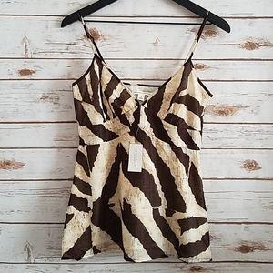 NWT Banana Republic | Animal Print Camisole Top